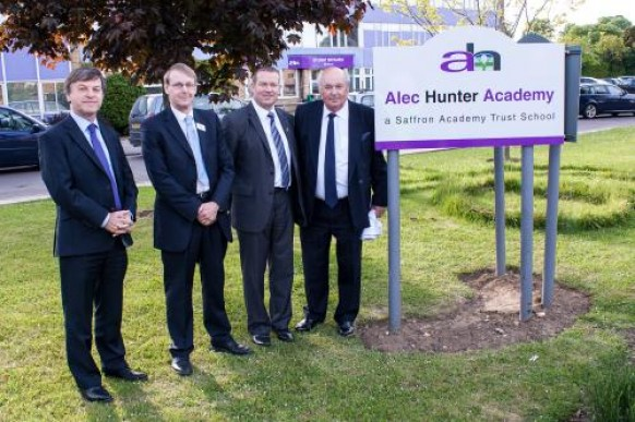 Alec Hunter Academy Launches Successfully