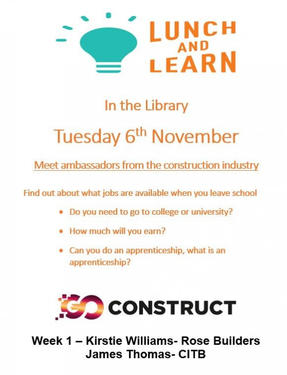 Lunch and Learn in the Library