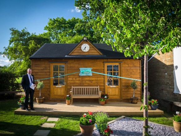"""Andrew's Shed"" Opens as a Memorial to Mr Hutchinson"