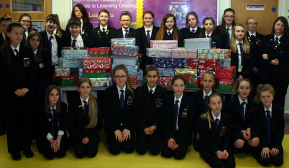Operation Christmas Child - Christmas Shoe Box Appeal 2014